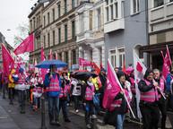 Streik und Demo am 11. April 2018 in Bonn