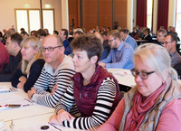 Mitglieder komba KV Gütersloh (v.r.n.l.) Christina Koch, Manuela Warncke, Dietmar Kankowski, Annette Horstkotte